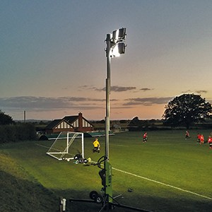 Portable Floodlights Football