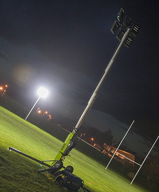 Portable Lighting For Sports