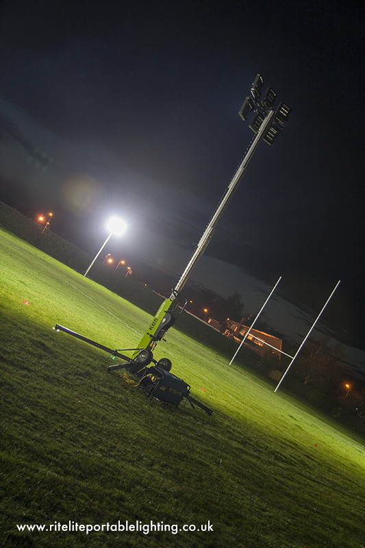 View the image gallery below & Temporary Sports Lighting - RiteLite Portable Lighting - 01780 758585 azcodes.com