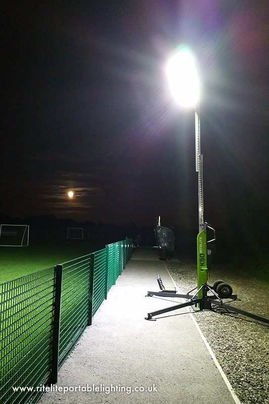 Portable Floodlights For Football Pitches