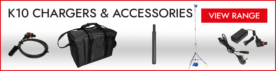 K10 Chargers and Accessories