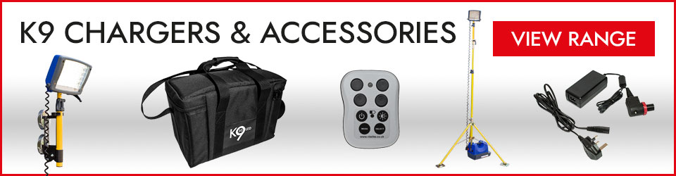 K9 Chargers and Accessories