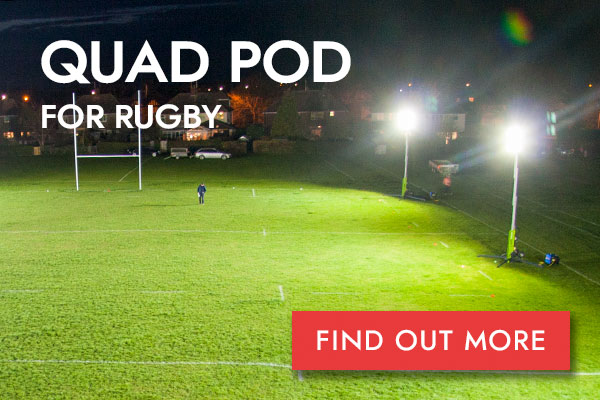 Quad Pod Rugby button