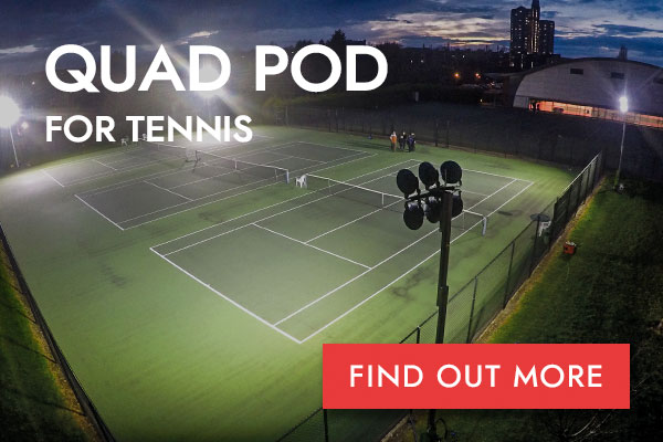Quad Pod Tennis button