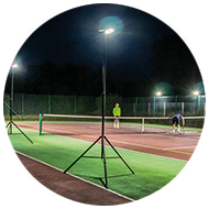 Sports-Lite tennis playing surface