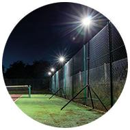 Sports-Lite tennis - safe, silent operation