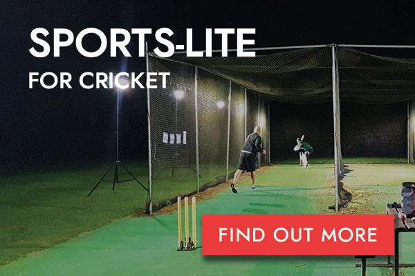 Sports-Lite Cricket button
