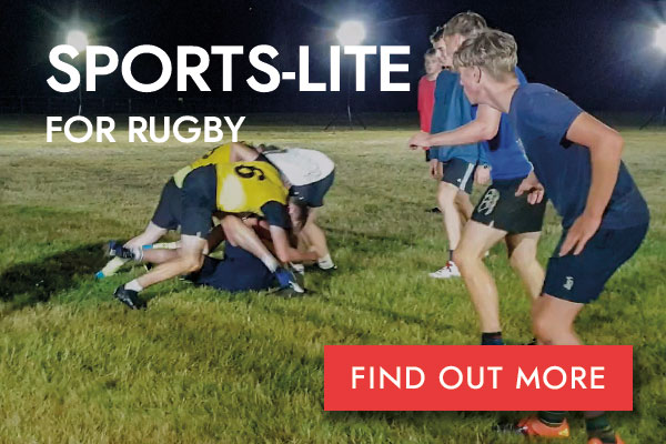 Sports-Lite Rugby button
