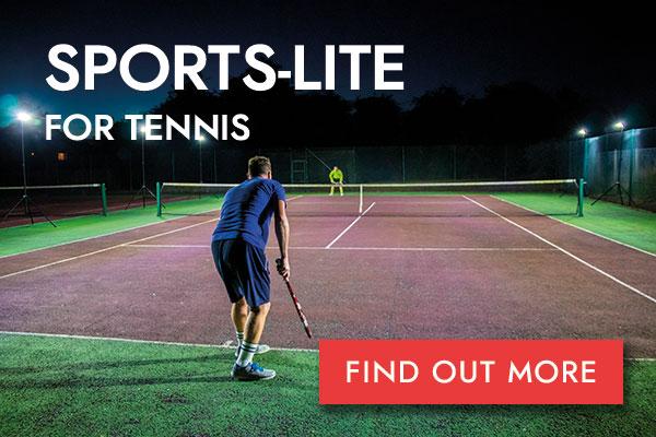 Sports-Lite Tennis button