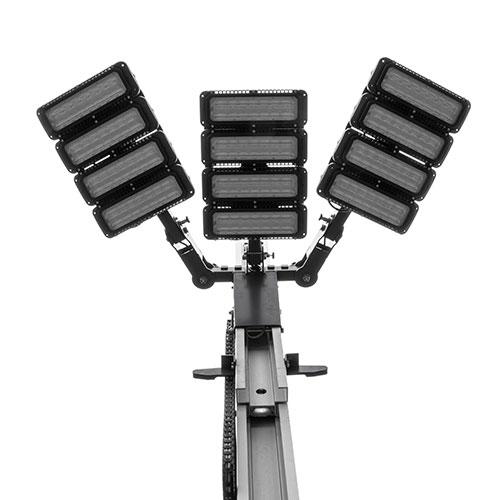 Quad Pod MK5 light heads 180 degree setup
