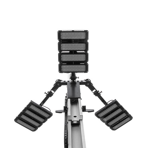Quad Pod MK5 light heads 360 degree setup