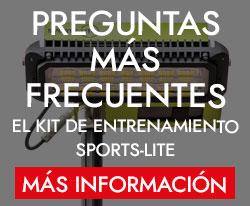 PREGUNTAS MÁS FRECUENTES SOBRE EL KIT DE ENTRENAMIENTO SPORTS-LITE - MÁS INFORMACIÓN