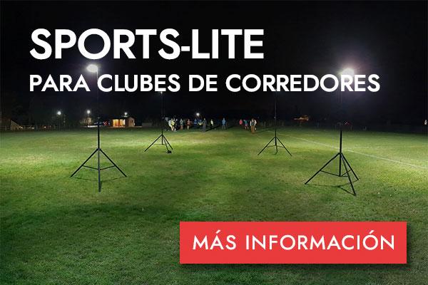 SPORTS-LITE PARA CLUBES DE CORREDORES - MÁS INFORMACIÓN